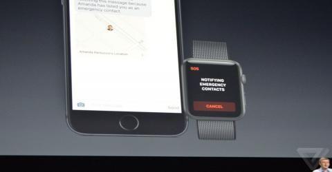 با یک کلیک ساده در اپل واچ به مراکز اورژانسی ۹۱۱ تماس بگیرید
