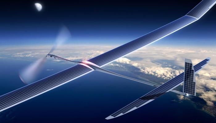 هواپیما بدون سرنشین Facebook