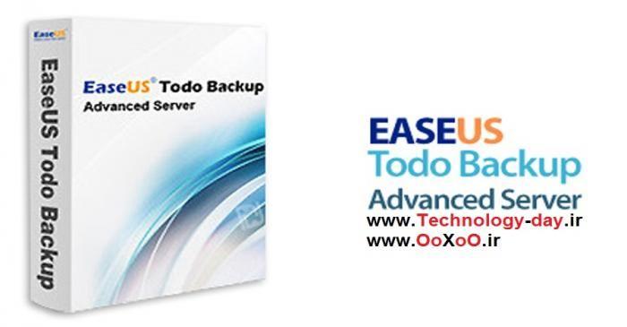 دانلود EASEUS Todo Backup Advanced Server v7.0 - نرم افزار پشتیبان گیری از سرور