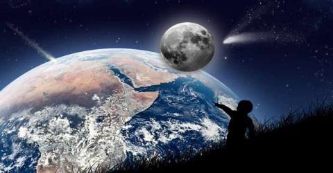 منشاء حیات در زمین چیست ؟
