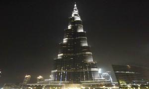 تحویل سال نو در برج خلیفه