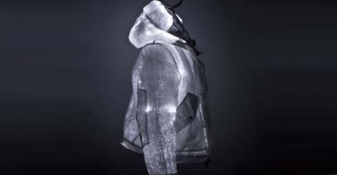 ژاکتی از جنس فیبر نوری
