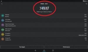 تگرا X1 امتیاز ۷۴,۹۷۷ را در بنچمارک AnTuTu کسب کرد