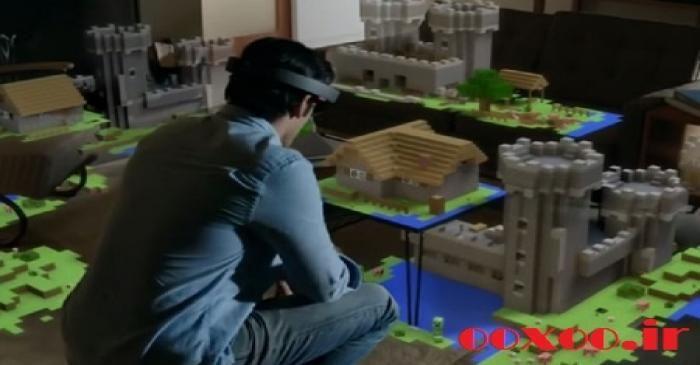 گزارش تصویری اوکسو // عینک هوشمند و سهبعدی HoloLens مایکروسافت