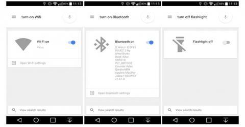 کنترل تنظیمات گوشی با استفاده از فرامین صوتی در اندروید ۵٫۰