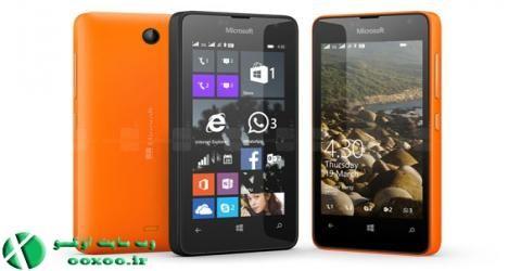 Microsoft Lumia 430 جدیدترین گوشی مایکروسافت