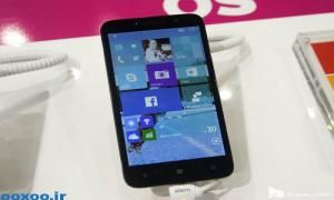 گوشی Pixi 3 آلکاتل در MWC 2015 با اجرای ویندوز ۱۰ موبایل رویت شد