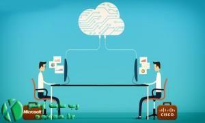 مایکروسافت و سیسکو سرویس ابری مشترک عرضه کردند