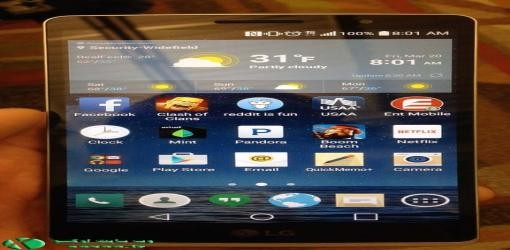 در اوایل اردیبهشت منتظر باشید : LG G4 با صفحه انحنادار