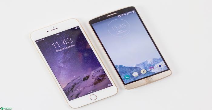 جدال دو تلفن هوشمند LG G3 و Apple Iphone 6 «ویژه عید سری دوم »