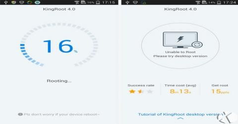KingRoot انگلیسی شد !