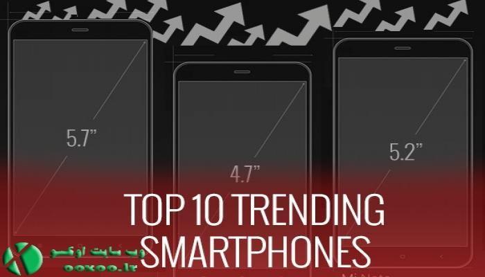 ۱۰ تلفن برتر هفته هجدهم سال ۲۰۱۵
