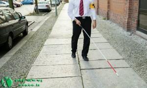 عصای هوشمند افراد نابینا ساخته شد