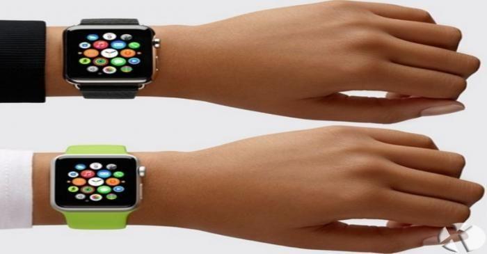 تبادل فایل در ساعت اپل با دست دادن