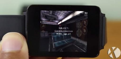 از این پس half-life را در ساعت هوشمندتان بازی کنید !