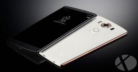 فروش تلفن هوشمند LG V10 آغاز شد