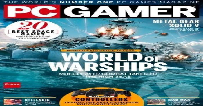 دانلود کنید : مجله PC Gamer شماره نوامبر ۲۰۱۵