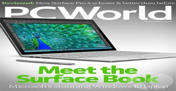 دانلود کنید : مجله PC World شماره نوامبر ۲۰۱۵
