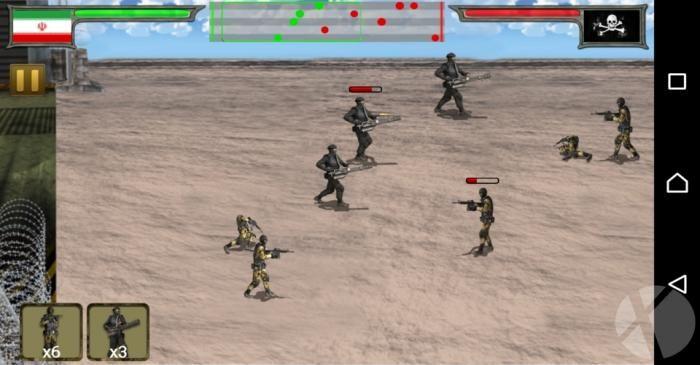 با ارتش در جیبتان نبردی برپا کنید - اوکسا