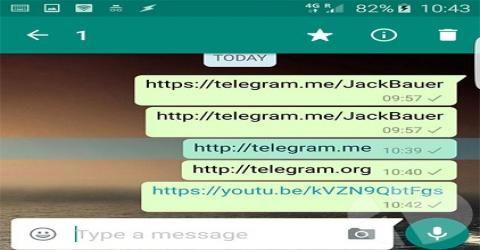 لینک های تلگرام در واتساپ مسدود شدند / اعلام جنگ واتساپ به تلگرام