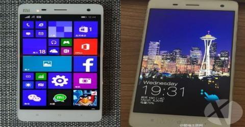 شیائومی اولین تلفن با سیستم عامل ویندوز ۱۰ یعنی Mi4 را این هفته عرضه خواهد کرد