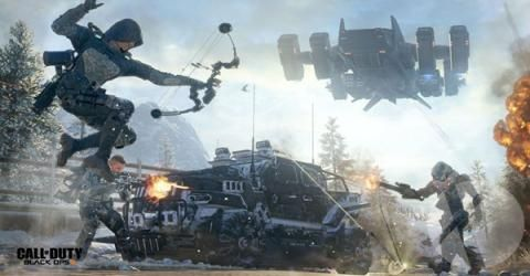 بازگشت بازی محبوب Call of Duty : Black Ops 3 به صدر جدول پر فروش های هفتگی انگلیس !
